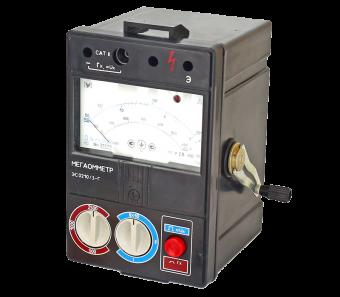 ЭС0210/5 Мегаомметр с измерительным напряжением 5 кВ