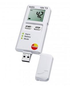 Снижена цена на USB-логгер температуры с дисплеем Testo 184 T3