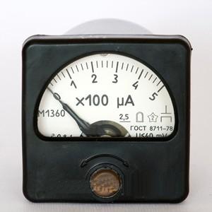 M1400 Микроамперметр и миллиамперметр
