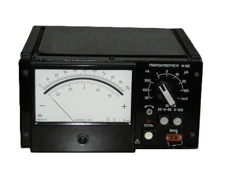Ф195 Микроамперметр