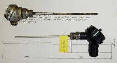 Датчики температуры под заказ по чертежам или образцам