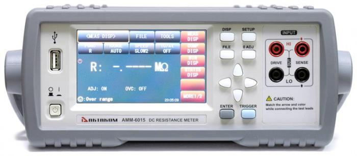 АММ-6015 Микроомметр