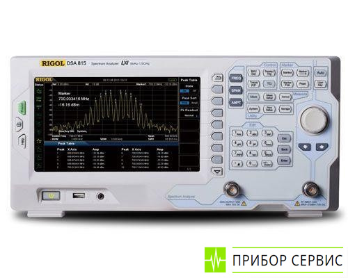 DSA815-TG - анализатор спектра с трекинг-генератором