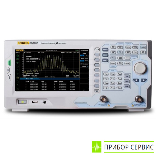 DSA832-TG - анализатор спектра с трекинг-генератором