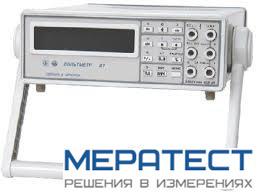 В7-72 - вольтметр универсальный цифровой