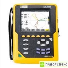 C.A 8333 - анализатор параметров электросетей и качества электроэнергии (без токовых клещей)