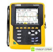 C.A 8331 - анализатор параметров электросетей и качества электроэнергии (без токовых клещей)