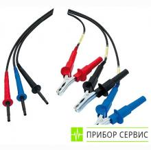 P01295220 - дополнительный комплект стандартных проводов 3 м, 5 кВ (3шт) для мегаомметров СА6505 и СА654х