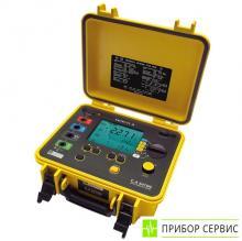 C.A 6470N - измеритель удельного сопротивления грунта и устройств заземления
