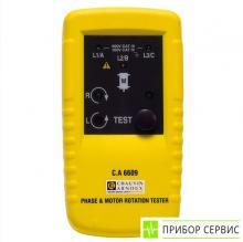 C.A 6609 - измеритель фазовой ротации и направления вращения двигателя
