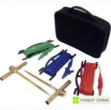 P01102017 - дополнительный 15м комплект для измерения сопротивления заземления (2Т, 1х15м, 1х10м, 1х5м, сумка)