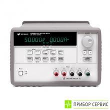 E3634A - источник питания постоянного тока, 1 канал, 200 Вт, 25 В/7 А или 50 В/4 А