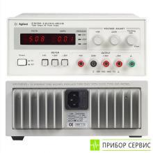 E3630A - источник питания, 35 Вт, 3 выхода, 6 В/2,5 А и ±20 В/0,5 А